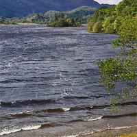 Buy canvas prints of Loch Achray, The Trossachs, Scotland by Jane McIlroy