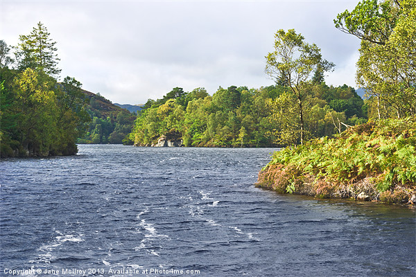 Loch Katrine, the Trossachs, Scotland Canvas print by Jane McIlroy