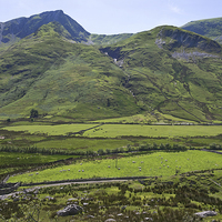 Buy canvas prints of Ogwen Valley Wales by Jane McIlroy
