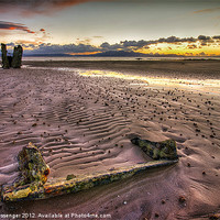 Buy canvas prints of North Beach Ardrossan by Paul Messenger