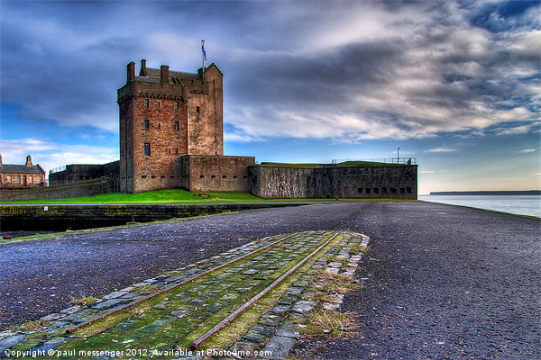 Broughty Castle Canvas print by Paul Messenger
