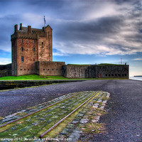 Buy canvas prints of Broughty Castle by Paul Messenger