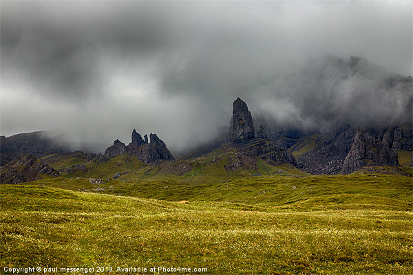 Old Man of Storr Canvas print by Paul Messenger