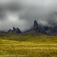 Buy canvas prints of Old Man of Storr by Paul Messenger