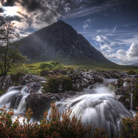 Buy canvas prints of Buachaille Etive Mor by Paul Messenger