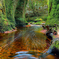 Buy canvas prints of The Devils Pulpit by Paul Messenger