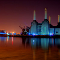 Buy canvas prints of Battersea Power Station 2 by DSLR Creations