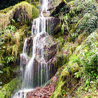 Buy canvas prints of hestercombe Falls by DSLR Creations