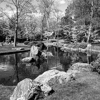 Buy canvas prints of Kyoto water Garden by DSLR Creations