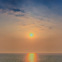 Buy canvas prints of Sun rise over the sea by DSLR Creations
