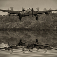 Buy canvas prints of  Departing Lancaster by DSLR Creations