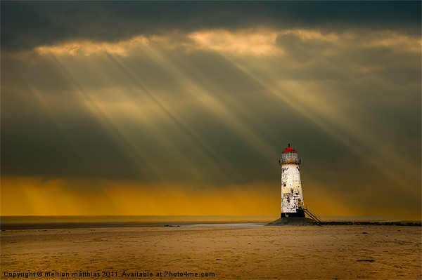 talacre storms Canvas print by meirion matthias