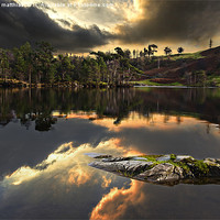 Buy canvas prints of Tarn Hows by meirion matthias