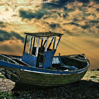 Buy canvas prints of dramatic dungeness by meirion matthias