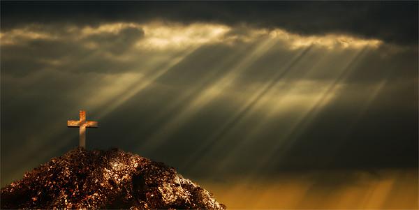 easter sky Canvas print by meirion matthias
