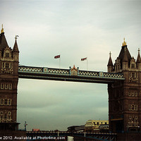 Buy canvas prints of Tower Bridge London by Mandy Rice
