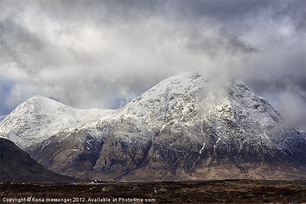 Buachaille Etive Mor Canvas print by Fiona Messenger
