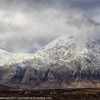 Buy canvas prints of Buachaille Etive Mor by Fiona Messenger