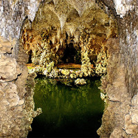 Buy canvas prints of Deep into the grotto by Sara Messenger
