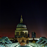 Buy canvas prints of St Paul's Cathedral by Sara Messenger