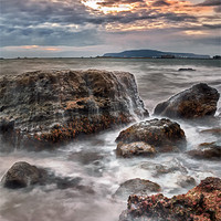 Buy canvas prints of Rocks of the Nothe by Chris Frost
