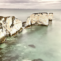 Buy canvas prints of Old Harry Rocks by Chris Frost