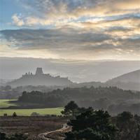 Buy canvas prints of Road to the Castle by Chris Frost