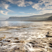 Buy canvas prints of Robin Hoods Bay Breakers by Chris Frost