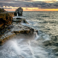 Buy canvas prints of Sunset at the Pulpit (2) by Chris Frost