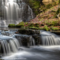 Buy canvas prints of Scaleber Force Falls by Chris Frost