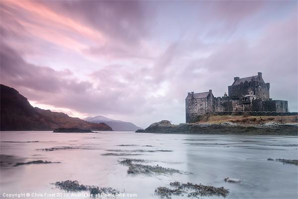 Eilean Donan Castle Sunset Canvas print by Chris Frost