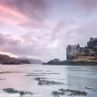 Buy canvas prints of Eilean Donan Castle Sunset by Chris Frost