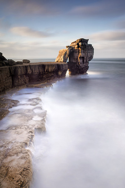 A long time standing at Pulpit Rock Canvas print by Chris Frost
