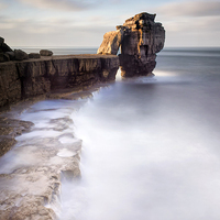 Buy canvas prints of A long time standing at Pulpit Rock by Chris Frost