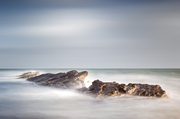 Peverill Point, Swanage Canvas print by Chris Frost