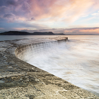 Buy canvas prints of Sunrise falls at the Cobb by Chris Frost