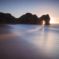 Buy canvas prints of Through the doorway by Chris Frost