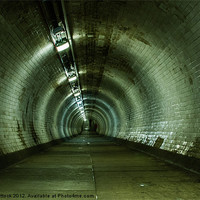 Buy canvas prints of Tunnel Head by Neal Puttock