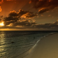 Buy canvas prints of Belle Mare Beach by Neal Puttock