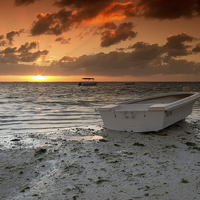 Buy canvas prints of Mauritian Sunrise by Neal Puttock