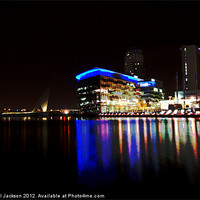 Buy canvas prints of Salford Quays by Rachael Jackson