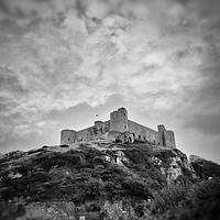 Buy canvas prints of Harlech Castle by Rachael Jackson