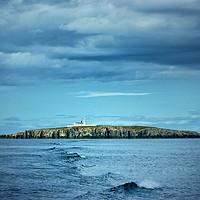 Buy canvas prints of Farne island lighthouse by Rachael Jackson