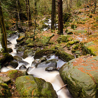 Buy canvas prints of Wyming Brook Valley by John Dunbar