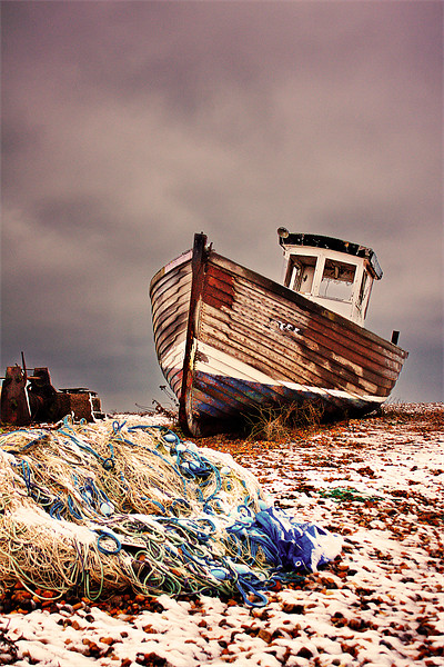 Fishing Boat Canvas print by Phil Clements