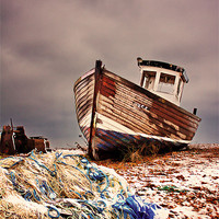 Buy canvas prints of Fishing Boat by Phil Clements