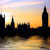 Buy canvas prints of Westminster Skyline by Phil Clements