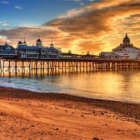 Buy canvas prints of Eastbourne Pier by Phil Clements