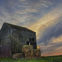 Buy canvas prints of The Old Barn, Detling by Phil Clements
