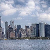Buy canvas prints of Manhattan Skyline by Phil Clements